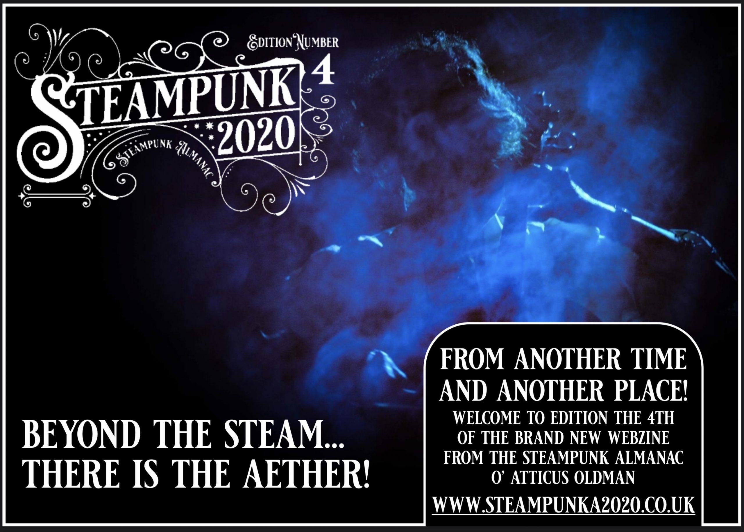 Steampunk Webzine Cover 4